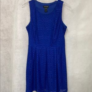 EnFocus Studio Sleeveless Crocheted Dress Sz12